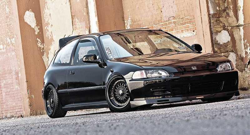 Charming 1992 Honda Civic SiR
