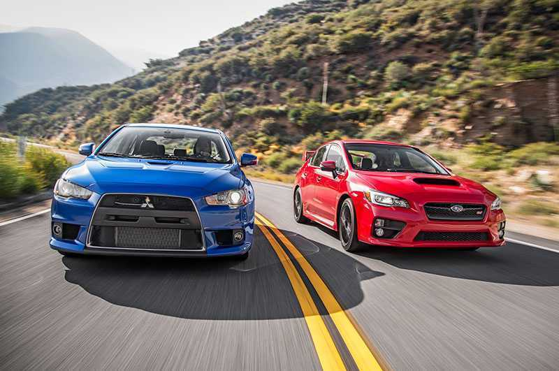 9 reasons why the mitsubishi evo is better than the impreza wrx sti autos speed impreza wrx sti