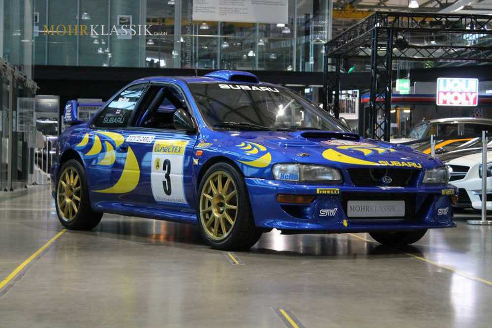 Colin McRae\'s 1997 Subaru Impreza WRC Is Up For Sale - Autos Speed
