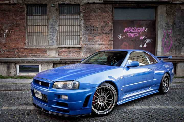 Paul Walker's 'Fast and Furious' Nissan GT-R is For Sale Again ...