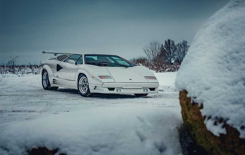 The 1991 Lamborghini Countach Celebrated 25 Years Of Awesome Cars