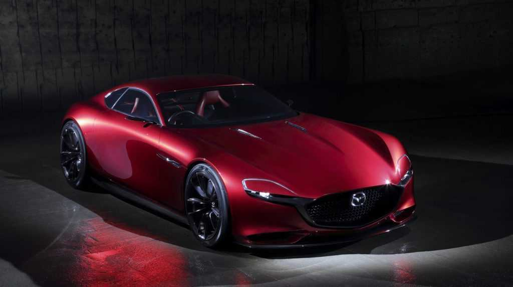 Mazda Rx Vision Rotary Sports Car Concept Autos Speed